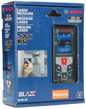 Bosch Glm 42 Blaze 135 Ft Laser Measure With Full Color Display