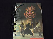 Star Wars Episode 1 ~ Fat Book Spiral Notepad, Diary, Journal ~ Darth Maul