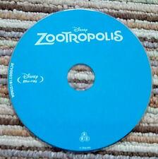 Zootropolis (Zootopia) Blu-Ray, Disc Only, Disney, ABC