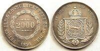 Brasil. 2000. Reis 1856. EBC-/XF-. Plata 25,4 g. Muy bonita