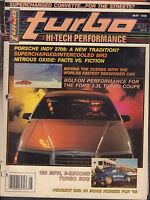 Turbo May 1988 Porsche Indy 2708, Turbo Bug 030617nonDBE