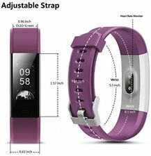 Fitness Tracker, toobur Smart Watch Activity Tracker with Heart Rate Pedometer