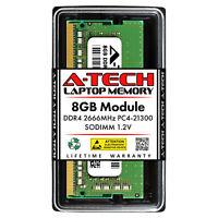 A-Tech 8GB DDR4 2666 PC4-21300 Laptop 260-Pin SODIMM Notebook Memory RAM 1x 8G