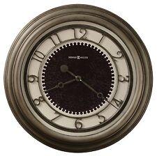 "625-526 KENNESAW 25.5"" HOWARD MILLER WALL CLOCK  IN ANTIQUE NICKEL FINISH"