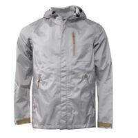 Nike Sportswear Silver Hooded Mens Storm-Fit Waterproof Jacket 439671 001 EE102