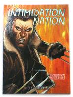 2013 Fleer Marvel Retro Intimidation Nation Card Wolverine Skybox 1 of 20 IN