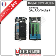 Support / Châssis Argent centrale Carte Mère Original Samsung Galaxy Note 4 N910