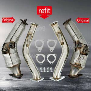 For Infiniti G35/350Z 370Z G37 Coupe VQ37HR VQ35HR Downpipes Q50 Q60 3.7L V6 3.5