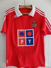 daae36855db RARE Benfica Adidas Home 2007 2008 Camiseta Football Club Shirt Retro  Soccer Top