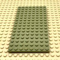 1x Lego Construction Plaque 8x16 Vert Minecraft Friends 21125 79003 4610602 92438