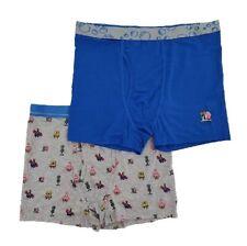 Nickelodeon's Spongebob Squarepants Men's 2-Pack Boxer Brief Underwear Size L