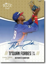 TI'QUAN FORBES 2014 Rize Draft *GOLD* Certified AUTOGRAPH RC - Only 200 Made!