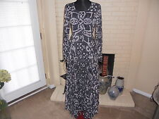 NWT FREE PEOPLE PRINTED MAXI DRESS IN SHARK COMBO SIZE XSMALL