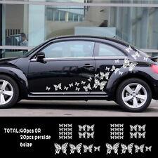 Car Butterfly Animal for Beetle Door Decal Vinyl Motor Side sticker ZC475 40pcs