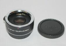 KENKO TELEPLUS 2X MC4 DGX Tele-converter Canon EF Digital Fit