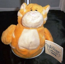 Yellow Cat Fat Belly Heritage Collection GANZ BELLIES H5223 w/ Tags