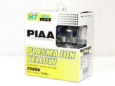 Piaa 2500K 110w Plasma Ion Yellow H7 Halogen Headlight Low Beam Bulbs A