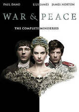 War & Peace The Complete Miniseries (DVD) New Sealed and Free Shipping