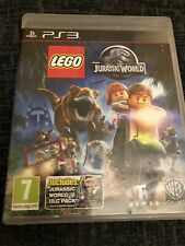 lego jurassic world ps3 With DLC Pack