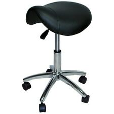 Hydraulic Adjustable Beauty Salon Spa Massage Facial Stool Chair Pro ST001 Black