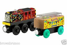 Thomas & Friends Wooden Railway Celebration Salty + Confetti Cargo Car NEW