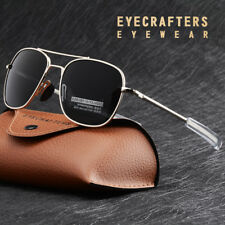 American Army Military Pilot Mens Polarized Sunglasses Bayonet Temple Glasses