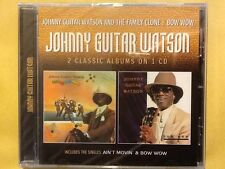 JOHNNY. GUITAR. WATSON.  cd.   The family clone /. Bow wow.