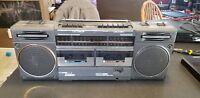 Vintage Magnavox Super tandem Ghettoblaster D8330  radio Boom Box