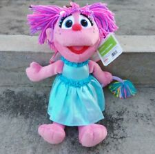 "Sesame Place 12"" Abby Cadabby Fairy Plush Stuffed Doll Sesame Street Muppet"