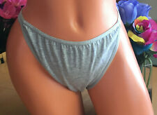 CACIQUE Heather Gray 14/16 Double string Signature Waist Bikini Brief Panties