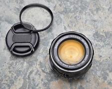 Asahi Pentax Super-Takumar f1.4 50mm Prime Lens M42 UV Treated NEX M4/3 (#3640)