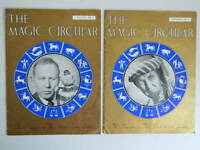 Lote The Magic Circular Truco Club Magos 2/12 Revista 1956