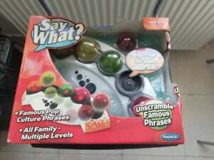Say What - Electronic Word Game ///SEALED///