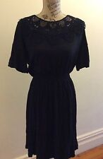 BRAND NEW, METALICUS Wool Arabesque Lace Dress-one size RRP $199.95
