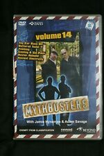 Mythbusters Volume 14 (DVD, 2006)  -  R 4   Pre-owned (D509