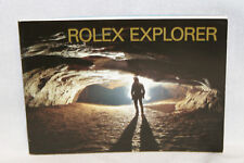 Rolex Explorer Booklet Owners Instruction Manual Book English 597.06
