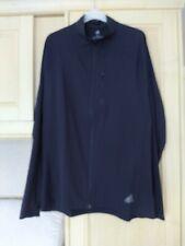 Adidas black running jacket medium