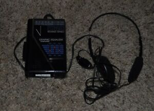 General Electric Portable Stereo Cassette Player Walkman 3-5444A W/ headphones