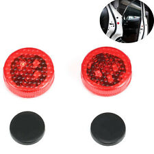 Car LED Door Safety Warning Anti-collision Lights Wireless Alarm Lamp Pretty