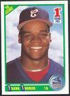 (HCW) 1990 Score #663 FRANK THOMAS Rookie RC Baseball MLB 02476