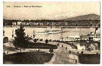 CPA Suisse Lémanique Genève Rade et Mont-Blanc