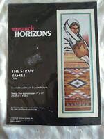 Monarch Horizons The Straw Basket counted cross stitch kit Reinardy Sealed