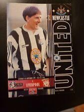 Newcastle United F.C. V Liverpool F.C.4/11/95 Premiership Match Programme
