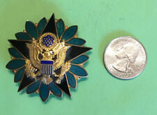 Original Us Army general staff identification badge with fine enamel