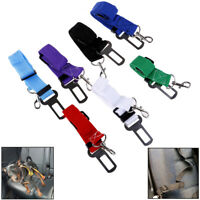 Pet Dog Car Seat Belt Adjustable Seatbelt Lead for Small Medium Travel Clip SK