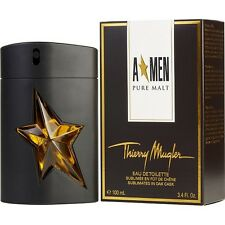 ANGEL A*MEN PURE MALT BY THIERRY MUGLER 3.4 oz / 100 ml EDT SPRAY MEN NIB SEALED