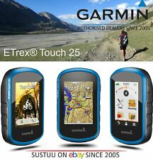 Garmin Etrex Touch 25│Outdoor Handheld GPS│Compass│Preloaded Geocache-Europe Map