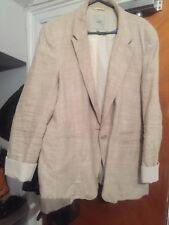 Ladies NEXT Cream Linen Blazer 16/18