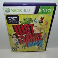 Just Dance Kids 2 (Microsoft Xbox 360, 2011) Complete Kinect Required Tested