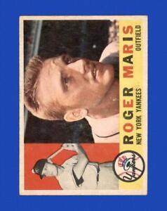 1960 Topps Set Break #377 Roger Maris VG-VGEX (wrinkle) *GMCARDS*